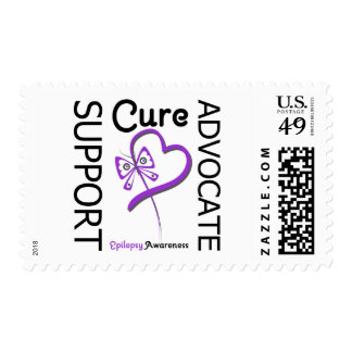 Epilepsy Support Advocate Cure Postage Stamps