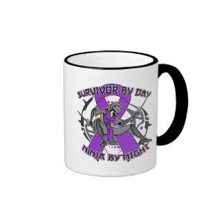 Epilepsy Survivor By Day Ninja By Night Mug