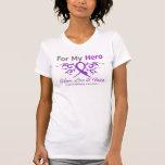 Epilepsy Tribal Ribbon Hero Tee Shirt