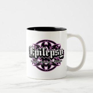 Epilepsy Tribal Two-Tone Coffee Mug