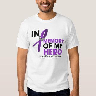 Epilepsy Tribute In Memory of My Hero Tee Shirt