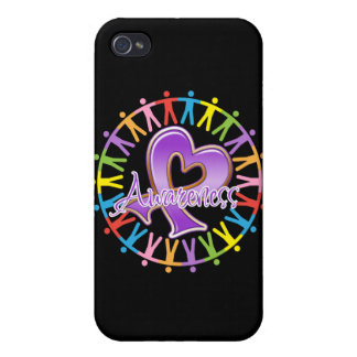 Epilepsy Unite in Awareness Cover For iPhone 4