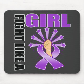 Epilepsy Victory Fight Like A Girl Mousepad