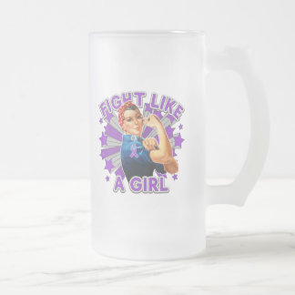 Epilepsy Vintage Rosie Fight Like A Girl Coffee Mugs