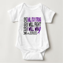 Epilepsy Warrior Baby Bodysuit