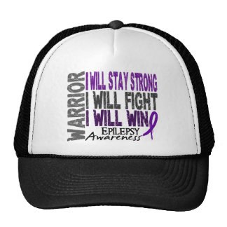 Epilepsy Warrior Trucker Hat