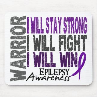 Epilepsy Warrior Mouse Pad