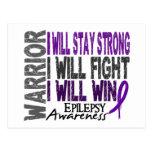 Epilepsy Warrior Postcard