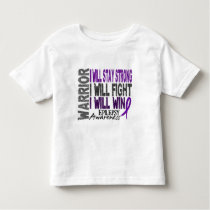 Epilepsy Warrior Toddler T-shirt