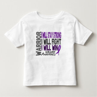 Epilepsy Warrior Toddler T-shirt