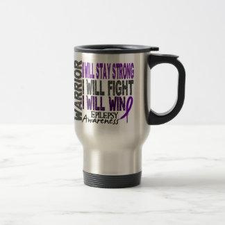 Epilepsy Warrior Travel Mug
