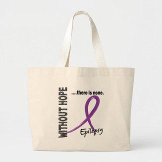 Epilepsy Without Hope 1 Jumbo Tote Bag