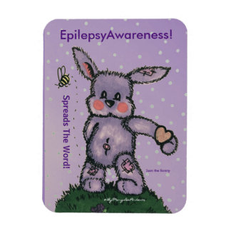 EpilepsyAwareness Magnet (Spreads The Word) ©