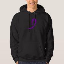 Epilepsy's Purple Ribbon A4 Hoodie