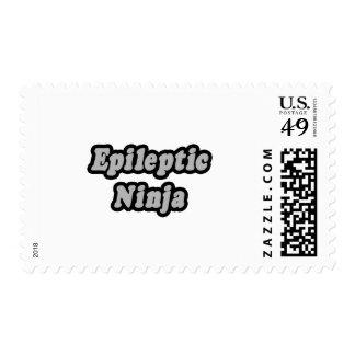 Epileptic Ninja Postage Stamps