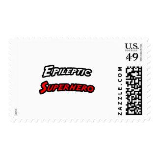 Epileptic Superhero Stamps