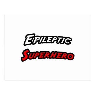 Epileptic Superhero Postcard