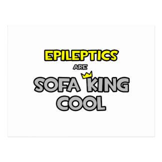 Epileptics Are Sofa King Cool Postcard