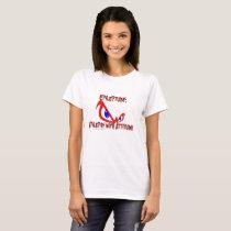 Epileptude Epilepsy With Attitude Logo T-Shirt