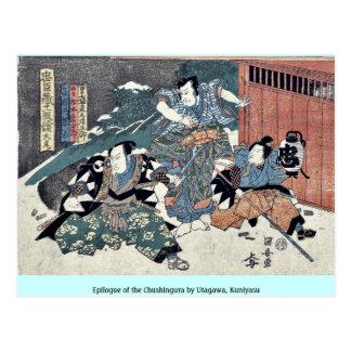 Epilogue of the Chushingura by Utagawa Kuniyasu Post Cards