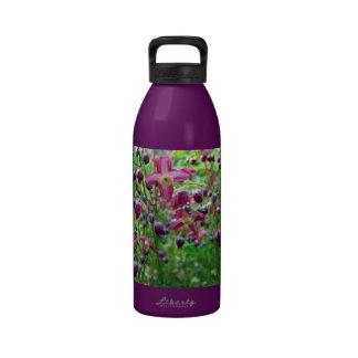 Epimedium Flowers Drinking Bottle