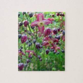 Epimedium Flowers Jigsaw Puzzle