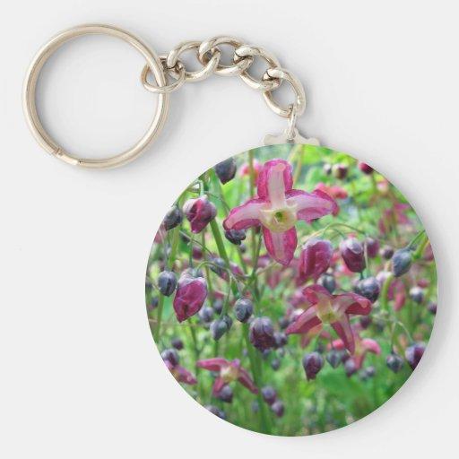 Epimedium Flowers Keychains