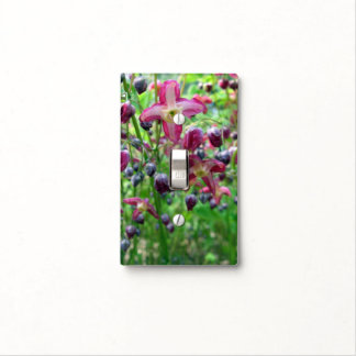 Epimedium Flowers Light Switch Cover