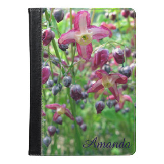 Epimedium Flowers Photo with Your Name iPad Air Case