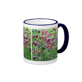 Epimedium Flowers Ringer Coffee Mug
