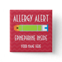 Epinephrine Allergy Alert Button