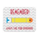 Epinephrine Reminder Magnet for Allergies