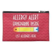 Epinephrine Zippered Medical Bag