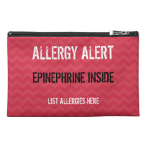 Epinephrine Zippered Medicine Bag