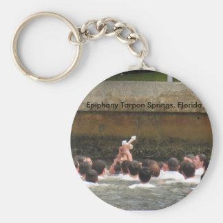 Epiphany Celebration Tarpon Springs, Florida Keychain