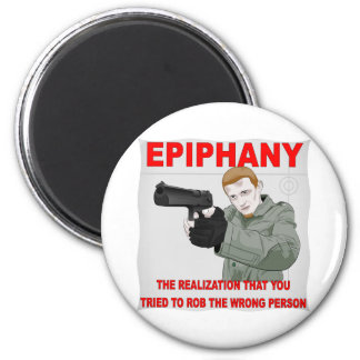 Epiphany The Realization You Tried To Rob The Magnet