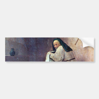 Epiphany-Triptych of St. Peter bumper sticker