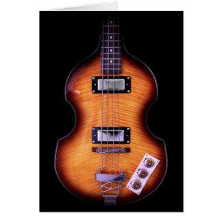 Epiphone Viola Bass Guitar Card