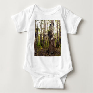 Epiphyte Bromeliad in Florida Forest Baby Bodysuit