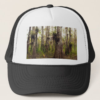 Epiphyte Bromeliad in Florida Forest Trucker Hat