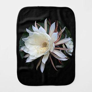 Epiphyte Cactus Flower Burp Cloth