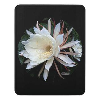 Epiphyte Cactus Flower Door Sign