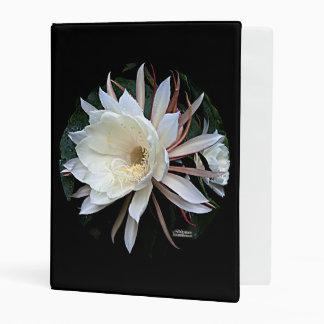 Epiphyte Cactus Flower Mini Binder