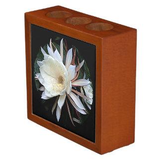 Epiphyte Cactus Flower Pencil Holder