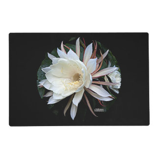Epiphyte Cactus Flower Placemat