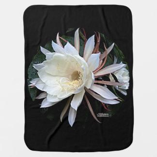 Epiphyte Cactus Flower Receiving Blanket