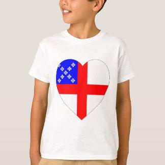 Episcopal Flag Heart T-Shirt