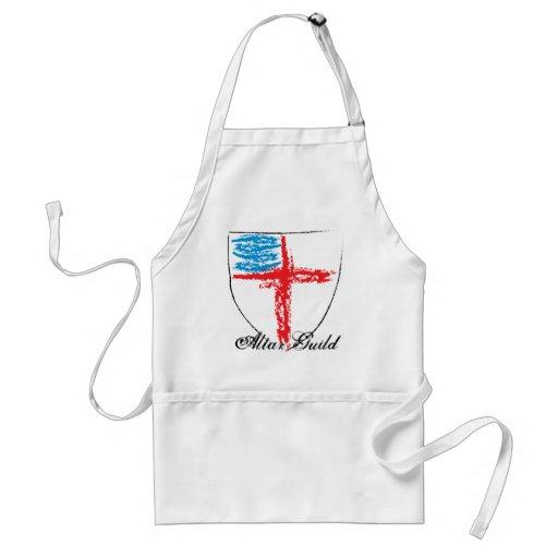 Episcopal Shield/Altar Guild Apron