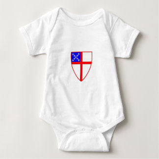 Episcopal Shield Baby Bodysuit