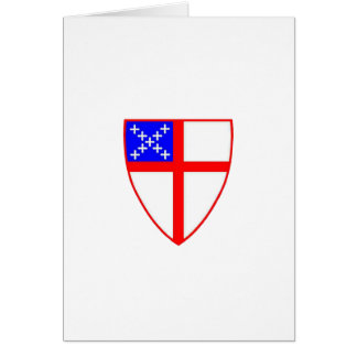 Episcopal Shield Card